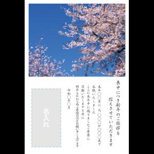 年賀状印刷デザインテンプレート : 0012