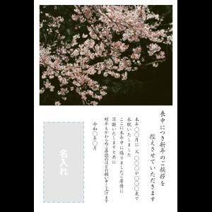 年賀状印刷デザインテンプレート : 0014
