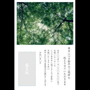 年賀状印刷デザインテンプレート : 0023