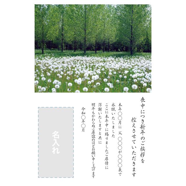 年賀状印刷デザインテンプレート:0025