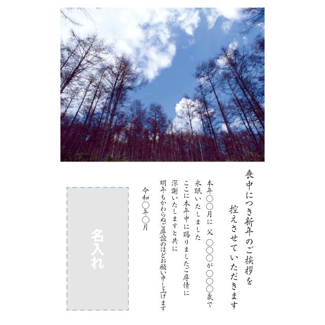 年賀状印刷デザインテンプレート:0026