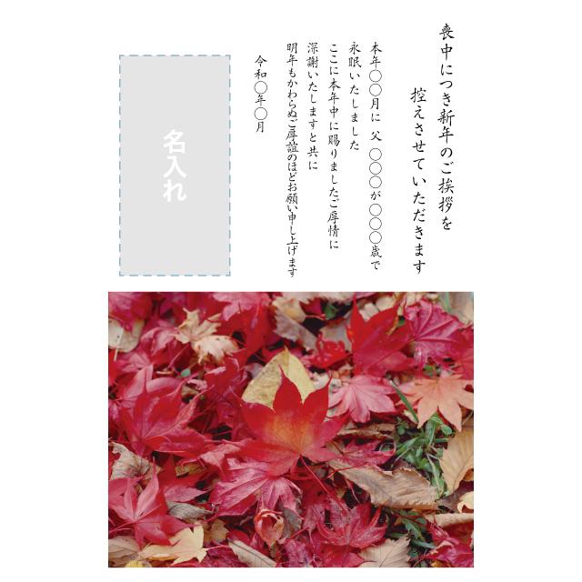 年賀状印刷デザインテンプレート:0028
