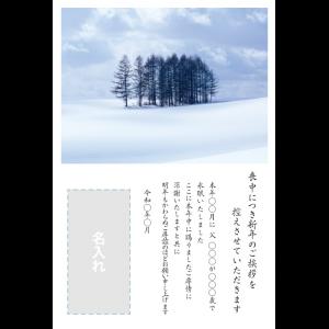 年賀状印刷デザインテンプレート : 0031