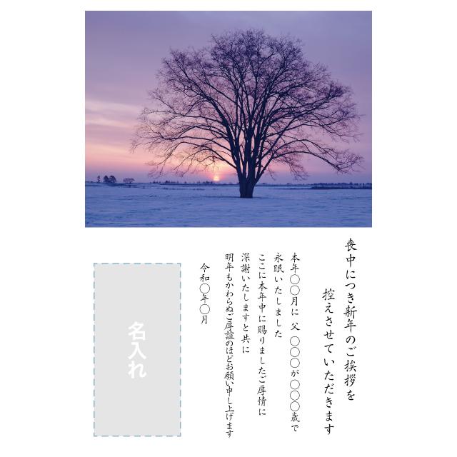 年賀状印刷デザインテンプレート:0033