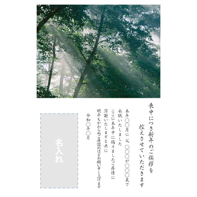 年賀状印刷デザインテンプレート:0040