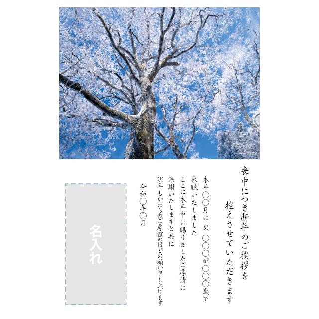 年賀状印刷デザインテンプレート:0063