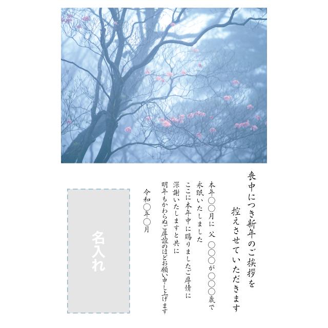 年賀状印刷デザインテンプレート:0065