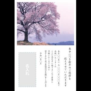 年賀状印刷デザインテンプレート : 0066