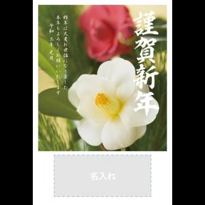 年賀状印刷デザインテンプレート : 0103