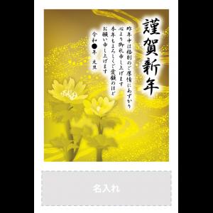 年賀状印刷デザインテンプレート : 0564