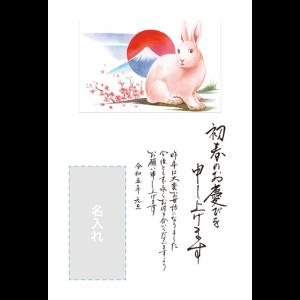 年賀状印刷デザインテンプレート : 6052